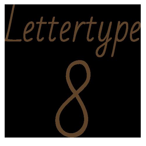 Lettertype 08   Strijkletters