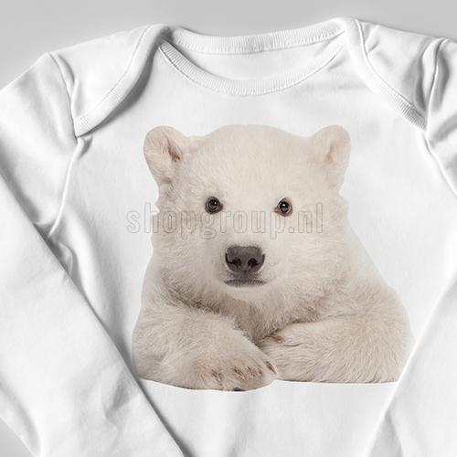 Strijkapplicatie ijsbeer