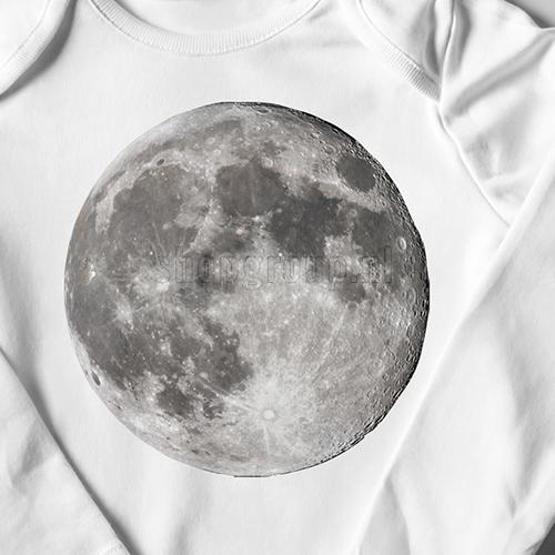 Strijkapplicatie Maan