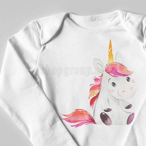 Unicorn strijkapplicatie