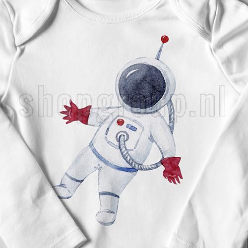 Astronaut Strijkapplicatie