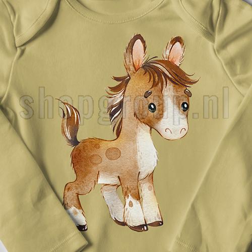 Pony Strijkapplicatie