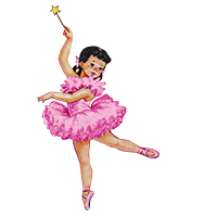 ballet strijkapplicaties