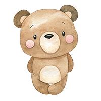 beren strijkapplicaties