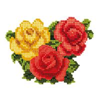 bloemen en planten strijkapplicaties
